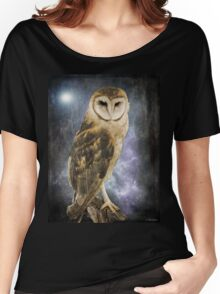 Wise Old Owl - Image Art Women's Relaxed Fit T-Shirt