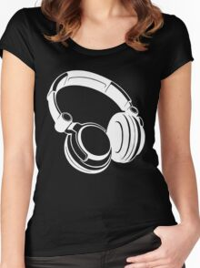 Gift Headphones Women's Fitted Scoop T-Shirt