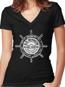 Gilligan's Island Women's Fitted V-Neck T-Shirt