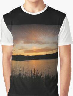 Minsi March Sunset Graphic T-Shirt