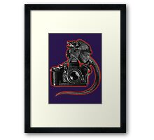 Lizard Camera Framed Print