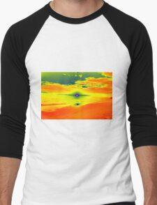 Psychedelic Sunset Men's Baseball ¾ T-Shirt