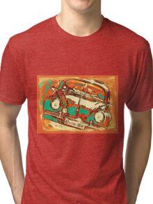 Beetle-Linc Tri-blend T-Shirt