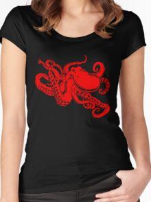 Octopus Women's Fitted Scoop T-Shirt