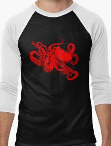 Octopus Men's Baseball ¾ T-Shirt
