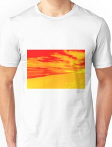 Psychedelic Beach Sunset Unisex T-Shirt