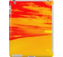Psychedelic Beach Sunset iPad Case/Skin