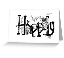 Happily Greeting Card