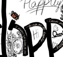 Happily Sticker