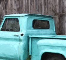 To Be Country - Vintage Truck Art Sticker