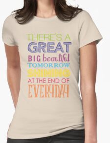 Carousel Of Progress Womens Fitted T-Shirt