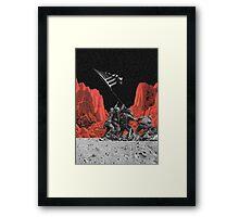 The Mars War Framed Print
