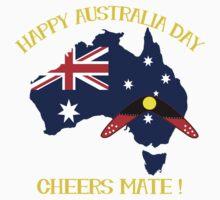 Australia Day with Boomerang Kids Tee