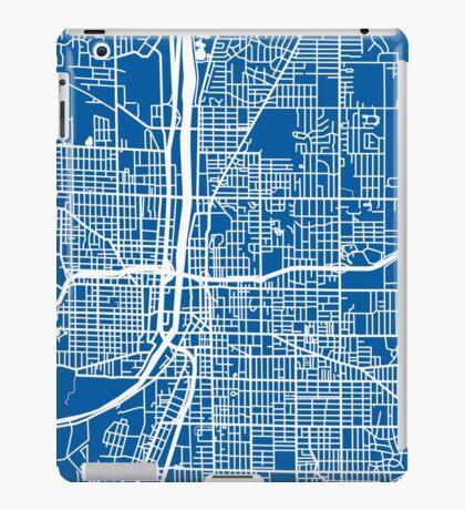 Grand Rapids Map - Deep Blue iPad Case/Skin