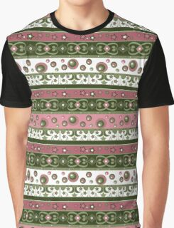 Seamless pattern circles ornamental geometric elements background Graphic T-Shirt
