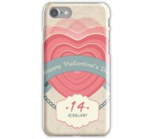 Valentine's Background iPhone Case/Skin