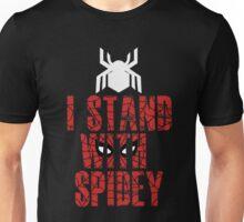 I Stand With Team Spidey - New Spiderman Logo Unisex T-Shirt