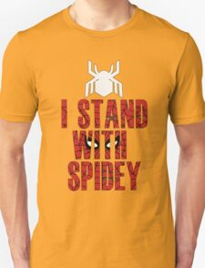 I Stand With Team Spidey - New Spiderman Logo T-Shirt