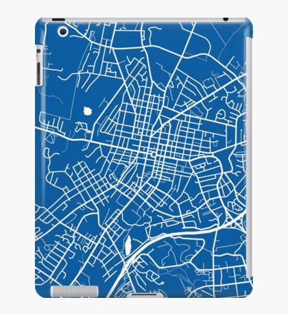 Harrisonburg Map - Deep Blue iPad Case/Skin