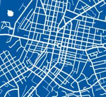 Harrisonburg Map - Deep Blue Sticker