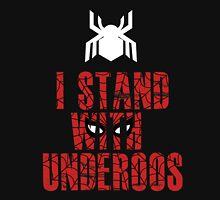 I Stand with Team Underoos - New Spiderman Logo Unisex T-Shirt