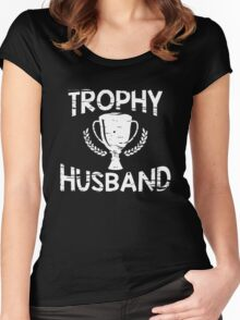 trophy husband Women's Fitted Scoop T-Shirt