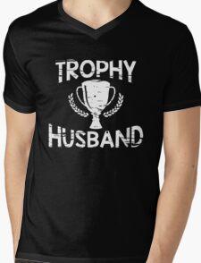 trophy husband Mens V-Neck T-Shirt