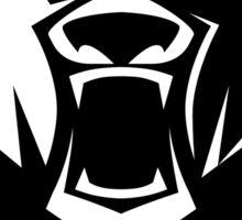 Black bear logotype Sticker