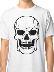 Black skull. Very DANGER! Classic T-Shirt