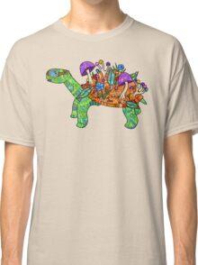 Rainbow Mushroom Tortoise  Classic T-Shirt