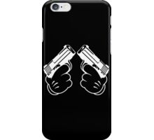 two guns iPhone Case/Skin