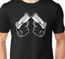 two guns Unisex T-Shirt