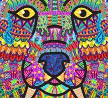 Rainbow Wolf Sticker