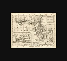 American Revolutionary War Era Maps 1750-1786 103 A map of the new governments of East & West Florida Unisex T-Shirt