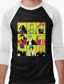 Persona 4 golden cast Men's Baseball ¾ T-Shirt