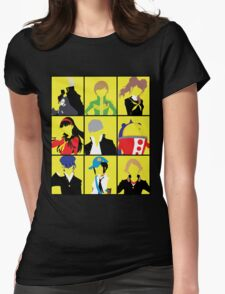 Persona 4 golden cast Womens Fitted T-Shirt