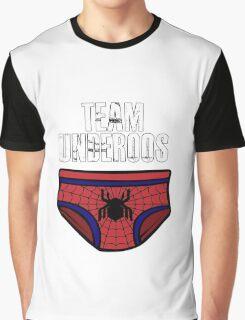 Team Underoos - Spiderman Civil War Graphic T-Shirt