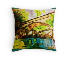 crystal creek pic Throw Pillow