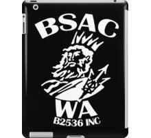 BSAC WA - white logo iPad Case/Skin