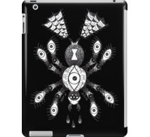 Spider Eyes White iPad Case/Skin