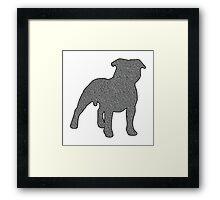 Staffordshire Bull Terrier 2 Framed Print