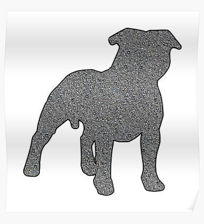 Staffordshire Bull Terrier 2 Poster