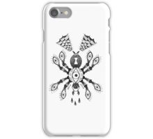 Spider Eyes B&W iPhone Case/Skin