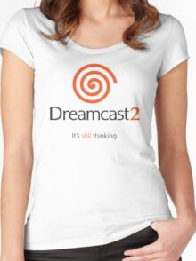 Dreamcast 2 Women's Fitted Scoop T-Shirt