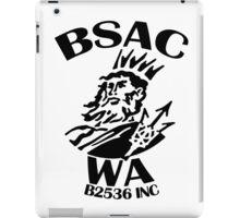 BSAC WA - black logo iPad Case/Skin