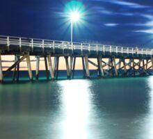 Grange Jetty: South Australia in the summertime Sticker