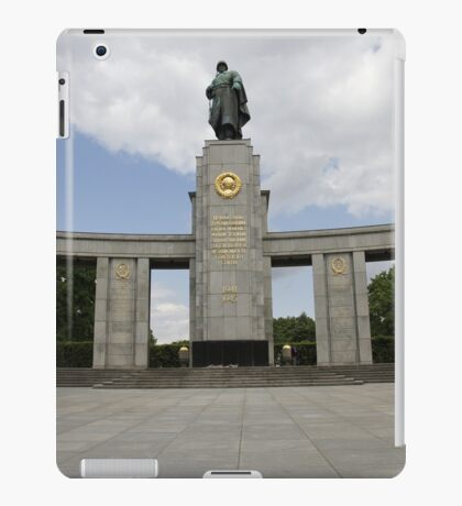 Soviet War Memorial Berlin iPad Case/Skin