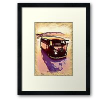 Vintage Sand Dune Framed Print