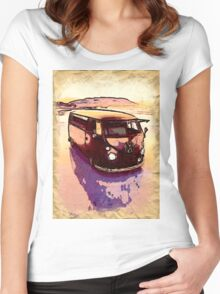 Vintage Sand Dune Women's Fitted Scoop T-Shirt