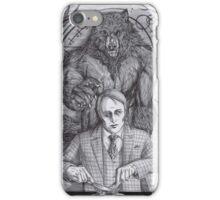 Werewolf gourmet iPhone Case/Skin